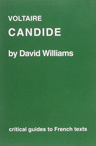 Voltaire: Candide (Critical Guides to French Texts)