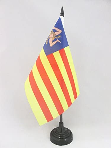 AZ FLAG Bandera de Mesa de Sicilia INDEPENDENTISTA 21x14cm ...