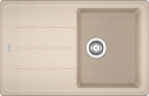 franke basis bfg 611 beige granit sp le sp lbecken einbausp le sp lbecken aufage. Black Bedroom Furniture Sets. Home Design Ideas