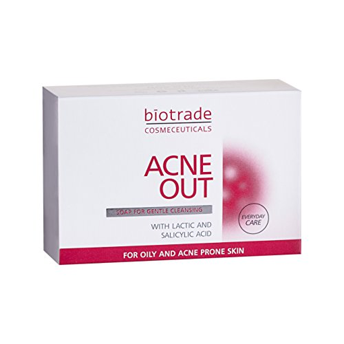 Acne Out Soap Bar 100g For Oily Skin With Pimples Removes