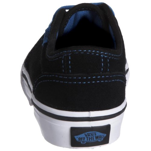 Leather 3 Vulcanized 106 Skate Uk Suede fleece bk K Vkv3l7x dgum blue Noir Unisex Sneaker Vans Black Shoe Vkv41hf Uomo 5 WOBUAE