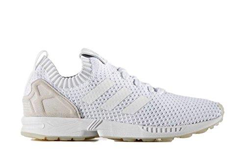 Scarpe Da Ginnastica Adidas Originali Da Uomo Flux Pk Mens Running Whtie Bianco Bianco S75977