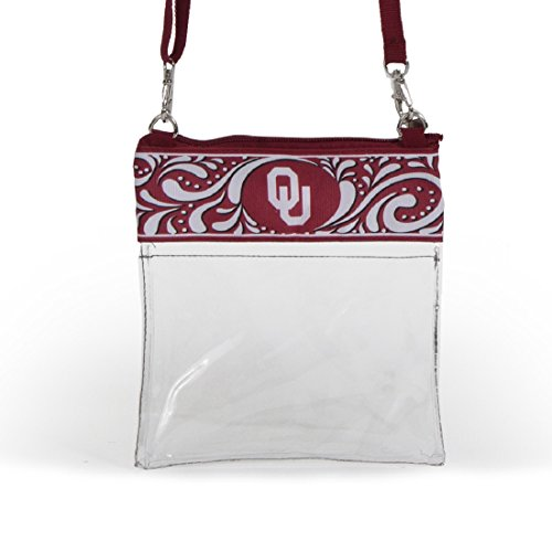 Oklahoma Sooners Clear Gameday Crossbody Bag
