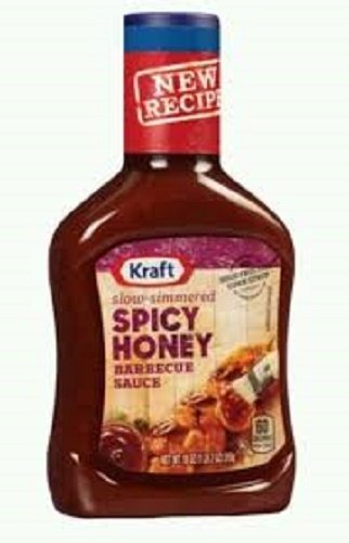 Kraft, BBQ Sauce, Spicy Honey, 18oz Bottle (Pack of 3) by Kraft