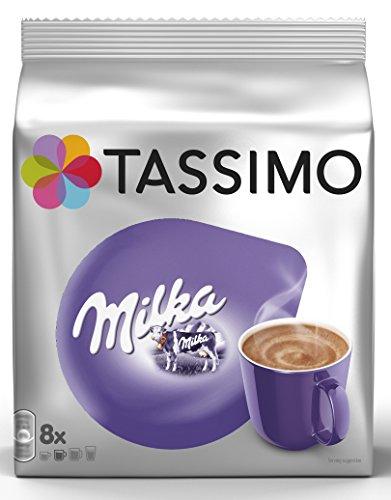 Tassimo Milka Hot Chocolate, 5-Pack, Chocolate, Capsules, 40 T-Discs/Servings (Tassimo Drinks Hot)