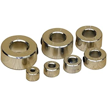 Platte River 908298,bits Set 6 Fractional Slipstop Collars Drill And Boring Accessories