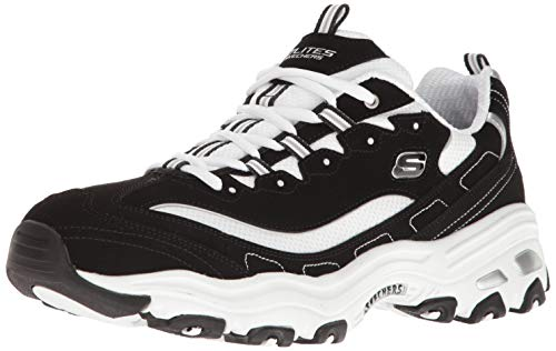 (Skechers Sport Men's D'Lites Oxford,black/White,11 M US)