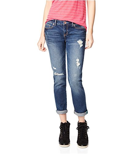 Aeropostale Womens Bayla Skinny Fit Jeans Blue 4x24 - Juniors