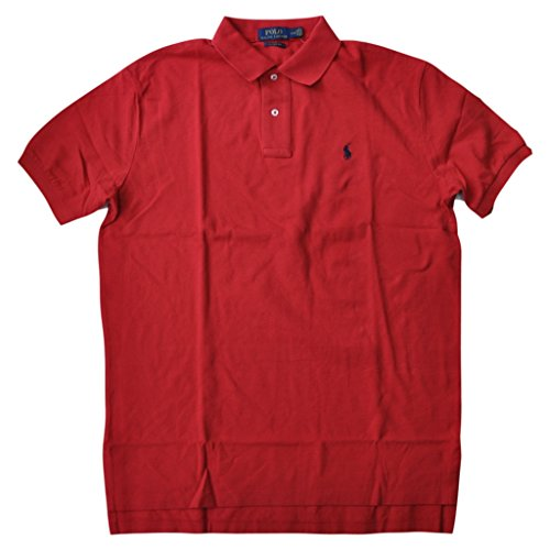 Polo Ralph Lauren Men Classic Fit Mesh Polo Shirt, Red, - Ralph States Polo Lauren United