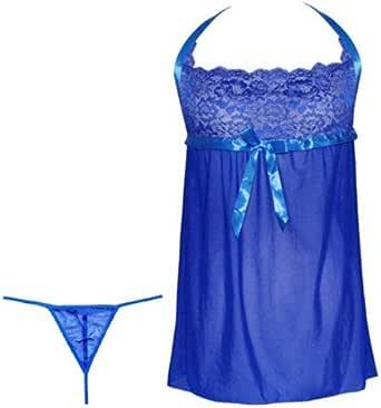Nightie Dress Babydoll Lingerie G-string Underwear, Sleepwear