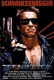 1art1 36927 Poster Terminator Affiche Principal Arnold Schwarzenegger 91 X 61 cm
