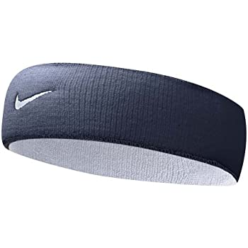 Amazon.com  Nike Premier Home and Away Headband (Obsidian White ... cbe70c0c0ad