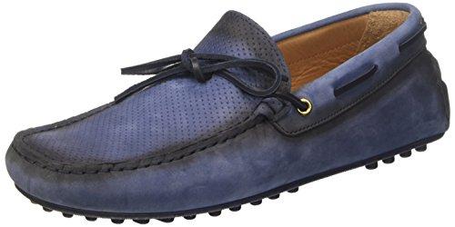Light Mocassins Blue Trussardi 43 Jeans Bleu Homme 77s56253 wqnXfvE