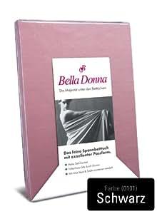 Bella Donna sábana bajera Negro 140/200-160/220
