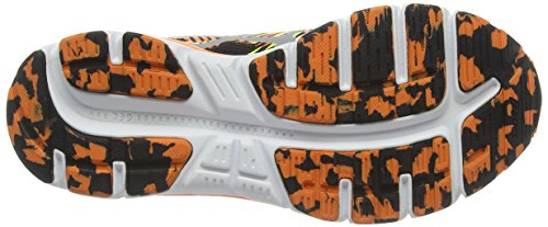 Asics Gel-lightplay 2 GS, Chaussures de Running Entrainement Mixte Adulte Noir (Black/Silver/Flash Orange 9093)
