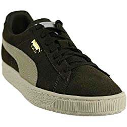 Puma Men's Suede Classic Fashion Sneaker, Olive Night-birch, 9.5 D(m) Us