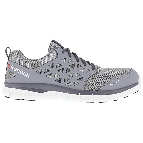 under $60 online visit new Reebok Work Men's Sublite Cushion Work Industrial and Construction Shoe Grey classic sale online LJ6XV