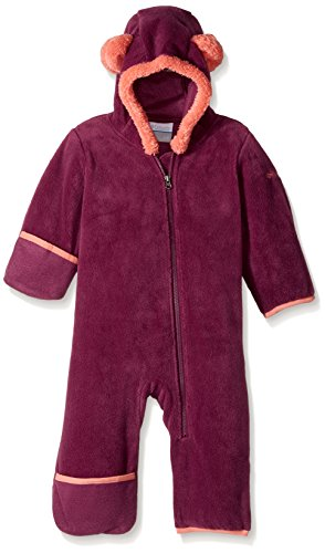 Columbia Baby Tiny Bear II Bunting, Dark Raspberry, 12-18 Months