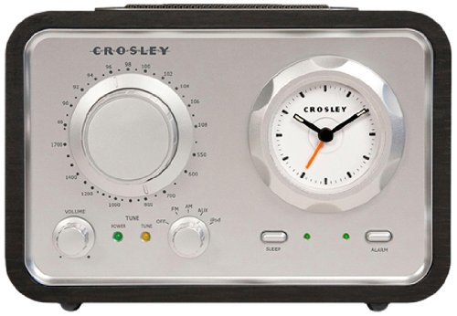 Crosley CR3010A-BK iDuet Radio (Black) (Discontinued by Manufacturer) (Radio Ipod Crosley)