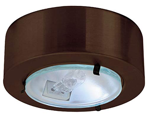 Lens Puck Mini Clear - Elco E228BZ Bronze Mini Downlight with Clear Glass Lens
