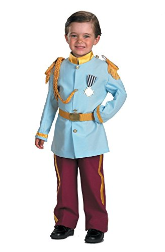 Disney Prince Charming Child Costume, 4-6, Blue by Disguise Inc by (Prince Outfit For Boy)