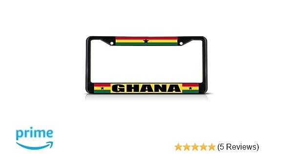 Ghana License Plate Frame Tag Holder