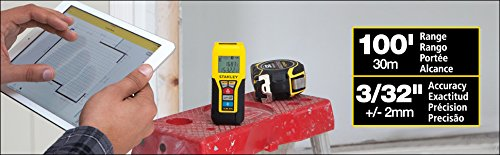 Stanley STHT77343 TLM99s Bluetooth Laser Distance Measurer by Stanley (Image #1)