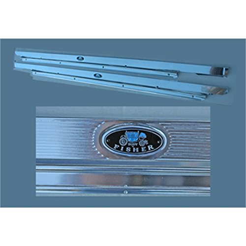 Reproduction Door Sill Plates for 1962-67 Nova 2-Door Coupe, Pair