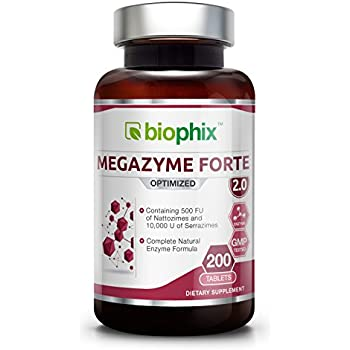 Amazon.com: Megazyme Forte 200 Tabs - Natural Plant ...