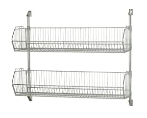 Amazon Com Cantilever Chrome Wire Baskets Can 34 1448bc