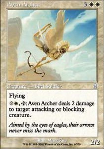 Magic: the Gathering - Aven Archer - Odyssey - Foil by Magic: the (Gathering Odyssey Foil)