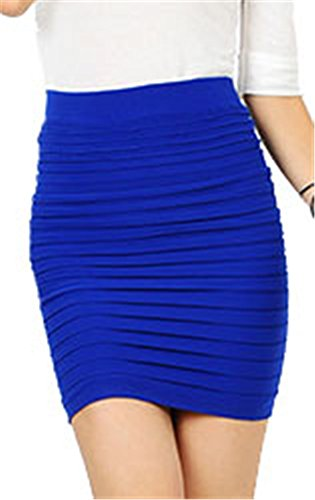 AnVei Nao Womens Bodycon Strechy Skirts