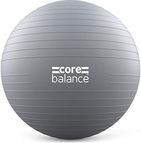 23 cm, antir/áfagas, antir/áfagas, yoga, ejercicio f/ísico, paja inflable para una f/ácil inflaci/ón, capacidad de peso de 200 kg Pelota de pilates suave Core Balance