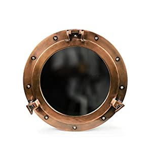 41T8n92pJLL._SS300_ 100+ Porthole Themed Mirrors For Nautical Homes For 2020