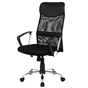 Super buy Modern Ergonomic Mesh High Back Executive Computer Desk Task Office Chair Black