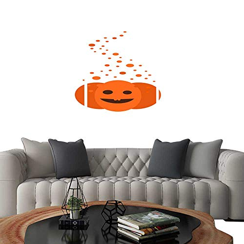 UHOO Pictures Paintings on Canvas WallMagic Pumpkin for Halloween Brick Wall Stickers 16