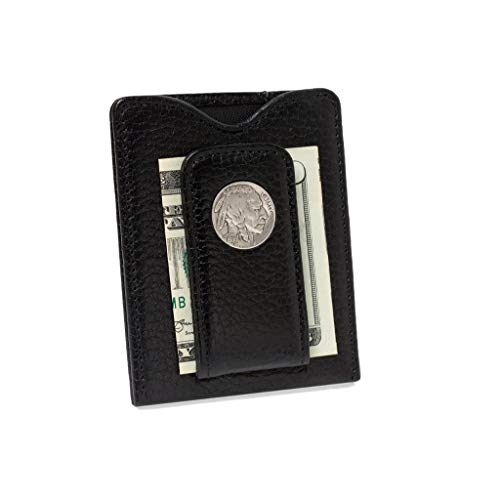 Tokens & Icons Buffalo Nickel Leather Wallet - Indian Head ()