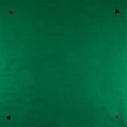 Square Poker Felt Layout - 40 X 40 Inches! by TMG