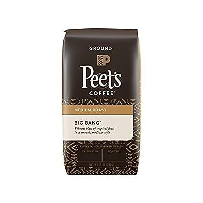 Peet's Coffee Big Bang Ground Coffee Medium Roast Bag, 12 Ounce