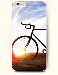 SevenArc New Apple iPhone 6 ( 4.7 Inches) Hard Case Cover - Sunlight through the Tire of a Bike