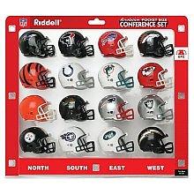 Riddell Pocket Pro Helmet Set - AFC 16 Piece Conference