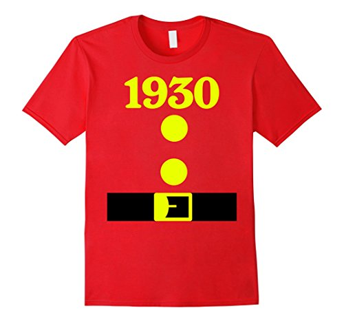 Mens Group Dwarf Costume 1930 Shirt 87 Years Old 87th Birthday 2XL (Mens 1930's Costumes)