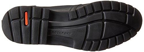 Rockport Mens Charson Snörning Chukka Boots Svart