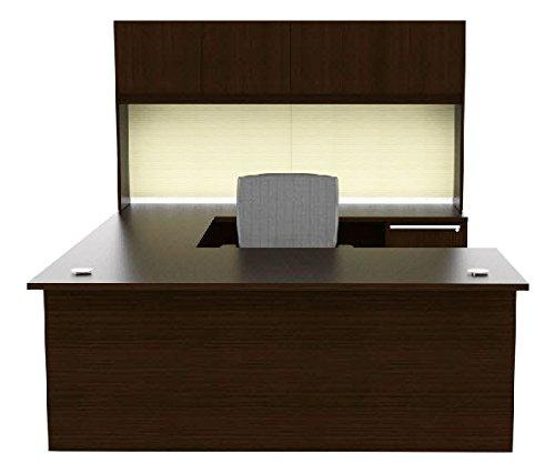 (Cherryman Verde Collection 72†U Desk Office Suite with 72