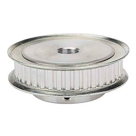 Silber XL 40T Doppel Flansch Zahnriemenscheibe für Textile Ausstattung
