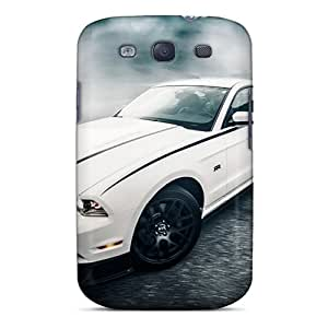 Durable Protector Case Cover With Ford Mustang (32) Hot Design For Galaxy S3