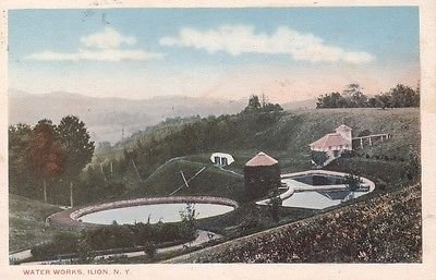 F9899 NY, Ilion Water Works Postcard