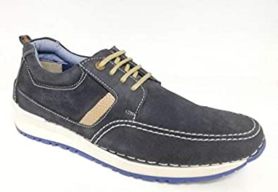 Buckaroo Mens Casual Blue Colored Lace-Up Shoes, Blue