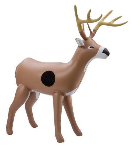 Deer Hunting Archery (NXT Generation 3D Inflatable Deer Target - Archery Target Practice - Life Size Inflatable Buck - Great for Kids - Suitable for Indoor and Outdoor Play - For VELCRO Tipped Nerf Like Foam Darts)