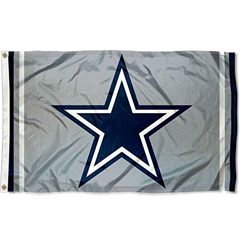 Wincraft Dallas Cowboys Metallic Silver Flag